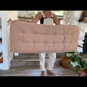 "Urban Outfitters Bedding - Soft, plushy ""headboard"" hanging cushion"